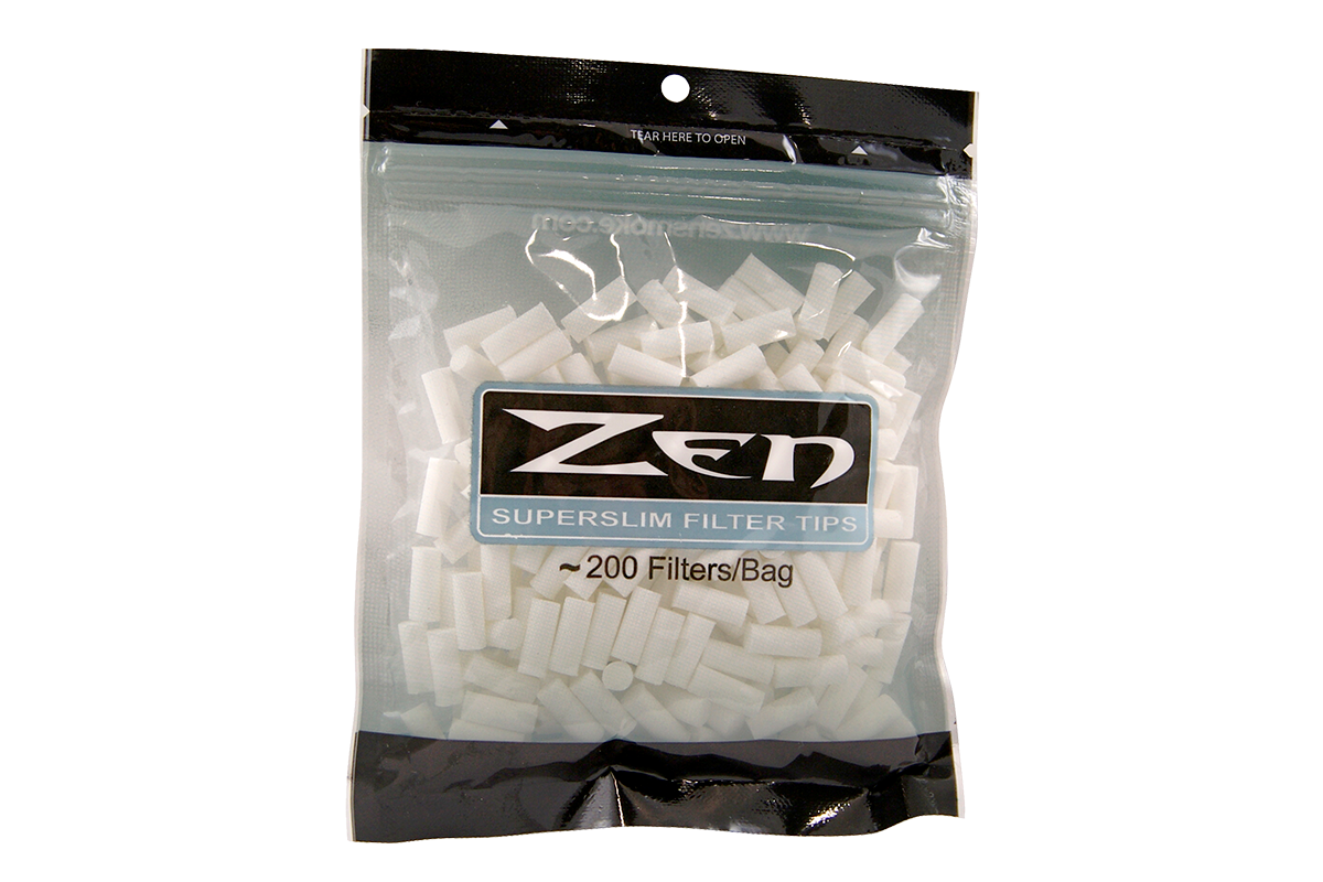 Zen Premium Super Slim Cigarette Filter Tips