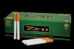 Zen Menthol Flavored Cigarette Tubes