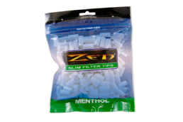 Zen Premium Menthol Slim Filter Tips