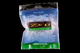 Zen Premium Menthol Slim Cigarette Filter Tips