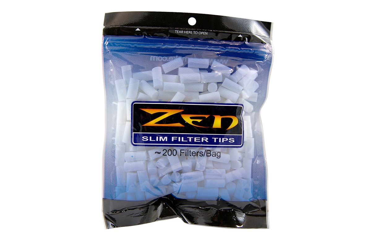 Zen Premium Slim Cigarette Filter Tips
