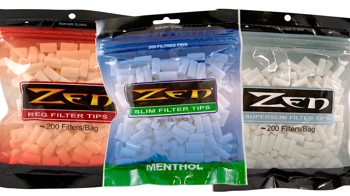 Zen Cigarette Filter Tips