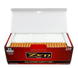 Zen Cigarette Tubes Open Box